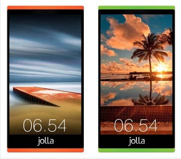 Concept Of Colourful New Jolla Handsets